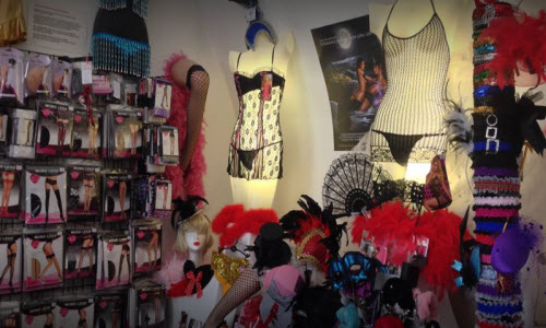 Siren Doll Lingerie Boutique Inside View