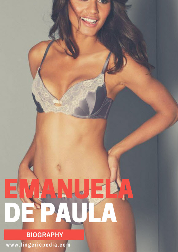 Emanuela de Paula name,birthday,nationality,height,eye color,hair color,measurements,bra size,shoe size,sexual orientation,dress size and religion