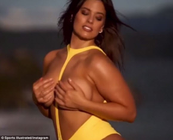 Ashley Graham Flaunts Her Incredible Curves In A Racy Topless shoot