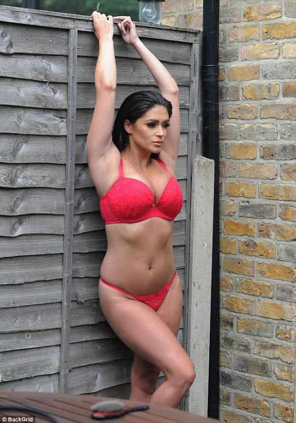 Casey Batchelor Sizzling In Sexy Sheer Lingerie On Eye Popping Display For Calendar Shoot