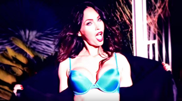 Megan Fox Strip Down to Her Lingerie in New Frederick's of Hollywood Campaign
